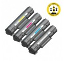 Pack HP 124A - 4 toners compatible