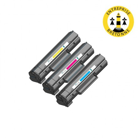 Pack HP 312A - 3 toners compatible