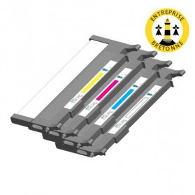 Pack HP 645A - 4 toners compatible