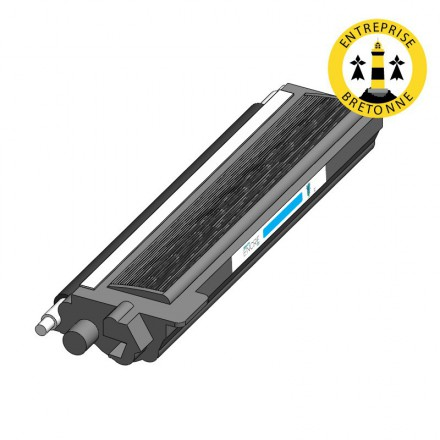 Toner BROTHER TN320C - Cyan compatible