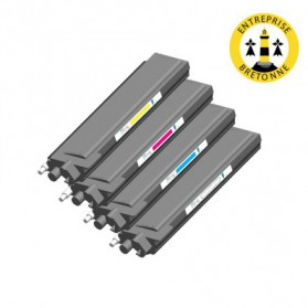 Pack BROTHER TN320 - 4 toners compatible