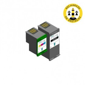 Pack HP 339/344 - Noir et couleurs compatible