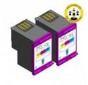 Pack HP 303 XL x2 - 3 couleurs compatible