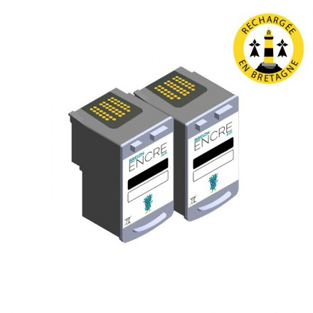 Pack CANON PG-40 x2 - Noir compatible