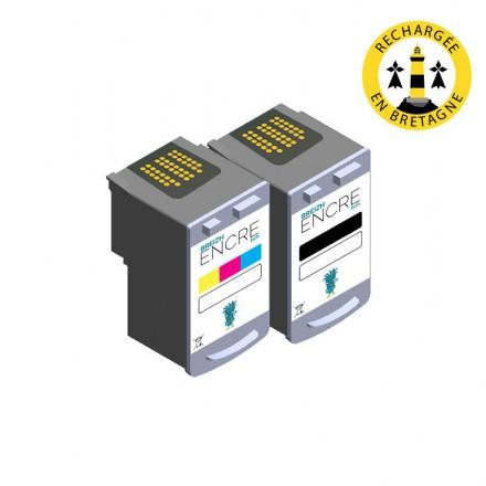 Pack CANON PG-40/CL-41 - Noir et couleurs compatible