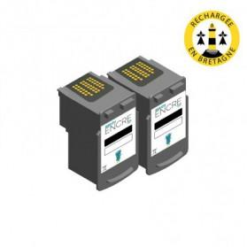 Pack CANON PG-510 x2 - Noir compatible