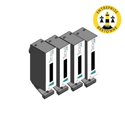 Pack CANON PGI-520BK x4 - Noir compatible