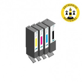 Pack CANON PGI-570 XL/CLI-571 XL - 4 cartouches compatible