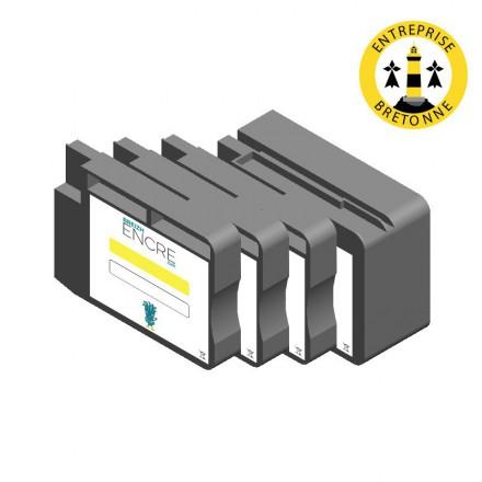 Pack CANON PGI-1500XL - 4 cartouches compatible