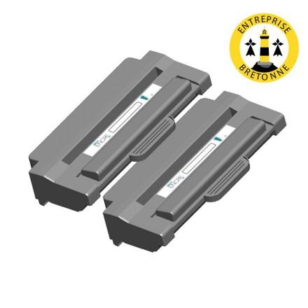 Pack DELL 593-10082 x2 - Noir compatible