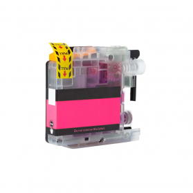 Cartouche BROTHER LC123/121M - Magenta compatible