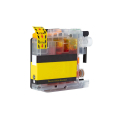 Cartouche BROTHER LC125XLY - Jaune compatible
