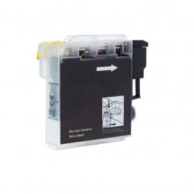 Cartouche BROTHER LC980BK - Noir compatible
