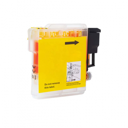 Cartouche BROTHER LC985Y - Jaune compatible