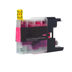 Cartouche BROTHER LC1240M - Magenta compatible