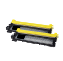 Pack BROTHER TN130BK x2 - Noir compatible