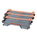 Pack BROTHER TN2120 x3 - Noir compatible