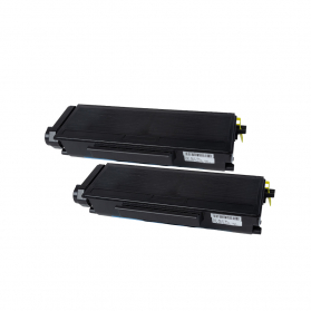 Pack BROTHER TN3390 x2 - Noir compatible