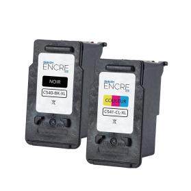 Pack CANON PG-540 XL/CL-541 XL - Noir et couleurs remanufacturé