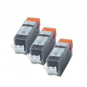Pack CANON PGI-5BK x3 - Noir compatible