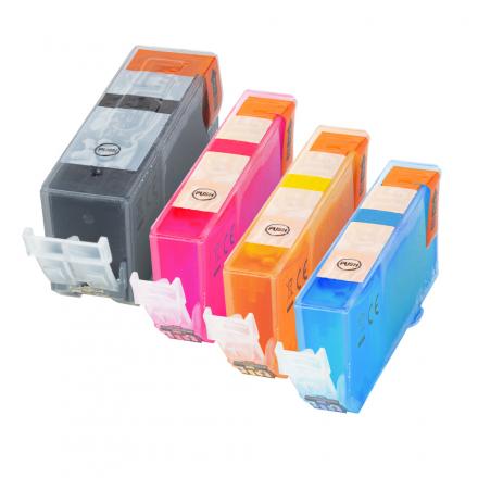 Pack CANON PGI-5BK/CLI-8 - 4 cartouches compatible
