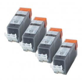 Pack CANON PGI-525PGBK x4 - Noir compatible