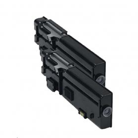 Pack DELL 593-BBBU x2 - Noir compatible