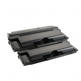 Pack DELL 593-10153 x2 - Noir compatible
