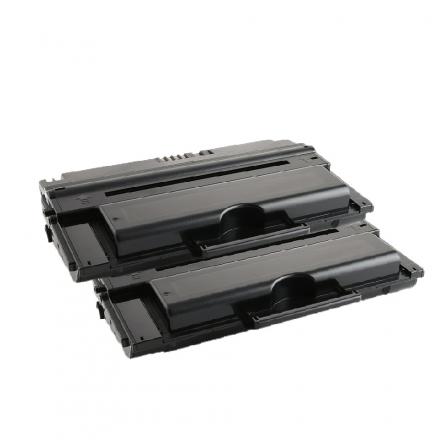 Pack DELL 593-10153 x2 - Noir compatible