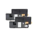 Pack DELL 593-11140 x2 - Noir compatible