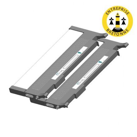 Pack DELL 593-11119 x2 - Noir compatible
