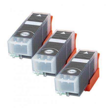 Pack EPSON 33 XL x3 - Noir compatible