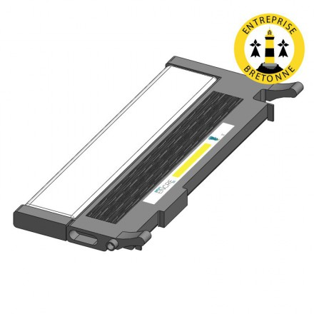 Toner DELL 593-11120 - Jaune compatible