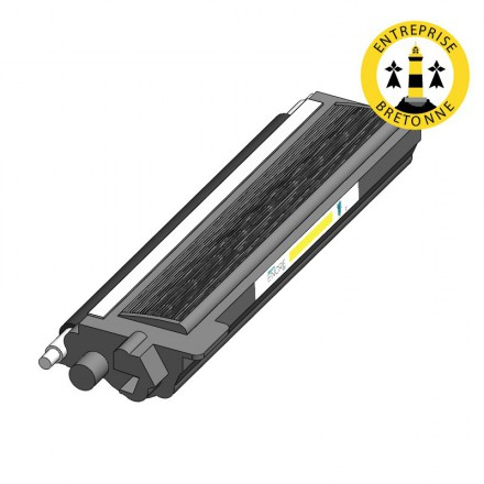 Toner DELL 593-11131 - Jaune compatible