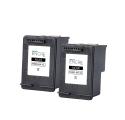Pack HP 300 XL x2 - Noir remanufacturé