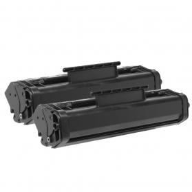 Pack HP 10A x2 - Noir compatible