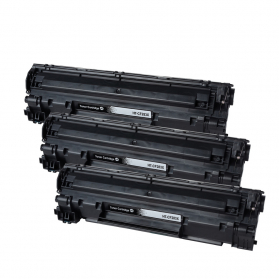Pack HP 12A x3 - Noir compatible
