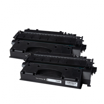 Pack HP 55X x2 - Noir compatible