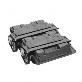 Pack HP 61X x2 - Noir compatible