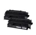 Pack HP 80X x2 - Noir compatible