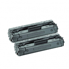 Pack HP 92A x2 - Noir compatible