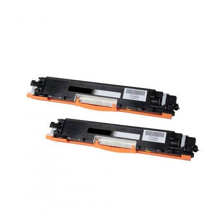 Pack HP 124A x2 - Noir compatible