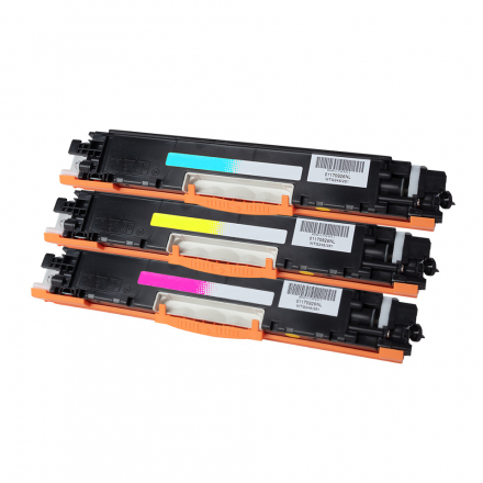 Pack HP 128A - 3 toners compatible
