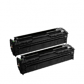 Pack HP 307A x2 - Noir compatible