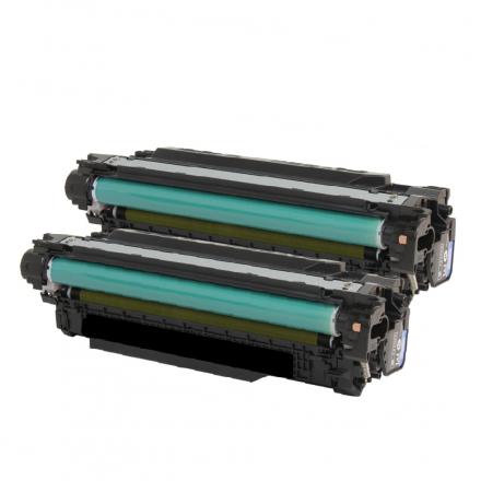 Pack HP 507X x2 - Noir compatible