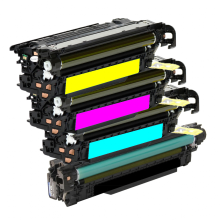 Pack HP 507A / 507X - 4 toners compatible