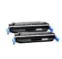 Pack HP 641A x2 - Noir compatible