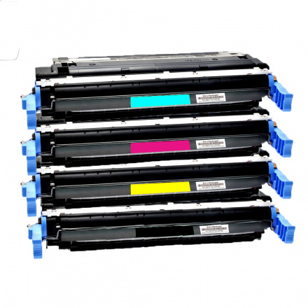 Pack HP 641A - 4 toners compatible