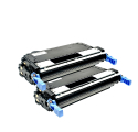 Pack HP 643A x2 - Noir compatible