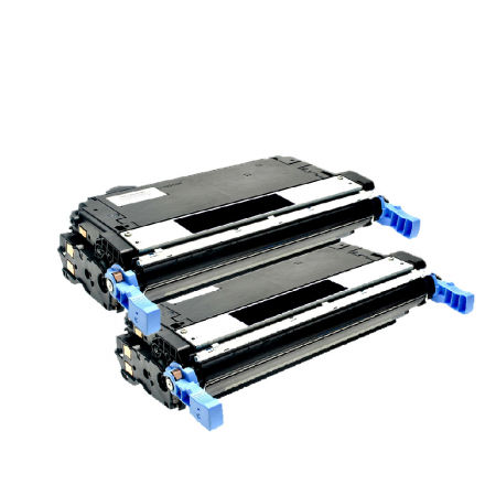 Pack HP 644A x2 - Noir compatible